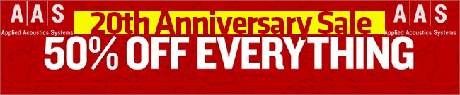 Banner AAS Anniversary SALE 50% OFF everything
