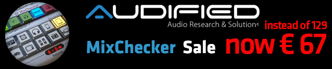 Banner Audified MixChecker SALE