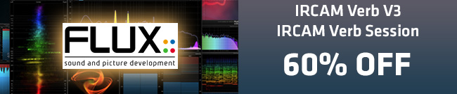 Banner Flux Ircam Verb 60% OFF