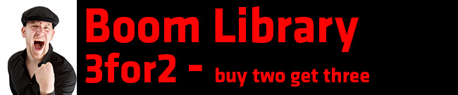 Banner Boom Library 3for2 - buy two get three