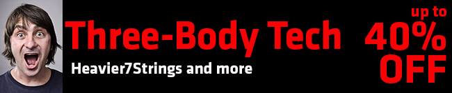 Banner Three-Body Tech 40% offThree-Body Tech up to 40% off