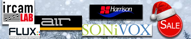 Banner PlugIn Winter Sale: Air | Harrison | Sonivox | IrcamLab