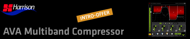 Banner AVA Multiband Compressor Intro Offer