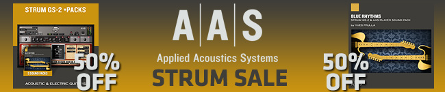 Banner AAS STRUM SALE 50% OFF
