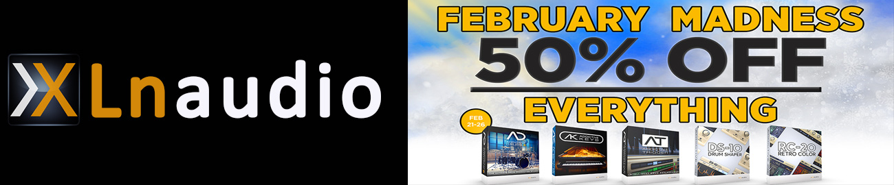 Deals | XLN Audio February Madness 50% OFF | bestservice com