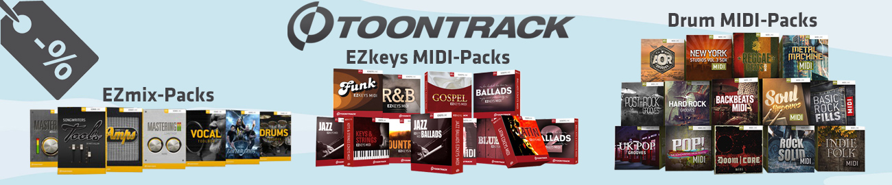Banner Toontrack - March Special - 20% OFF