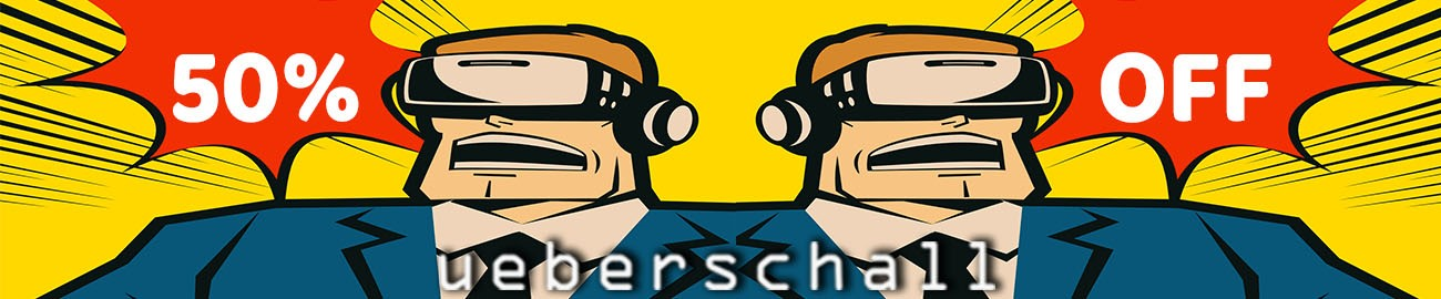 Banner Ueberschall Virtual Reality Sale - 50% OFF
