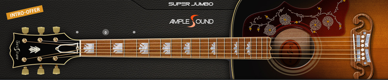 Banner Ample Sound Super Jumbo introductory offer