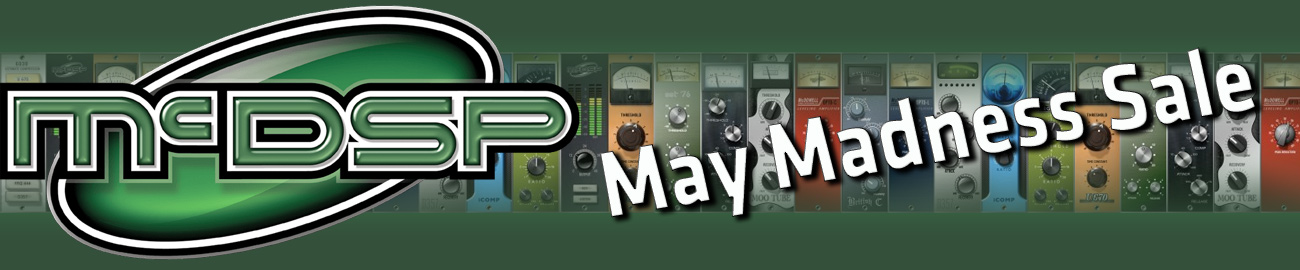 Banner McDSP May Madness sale