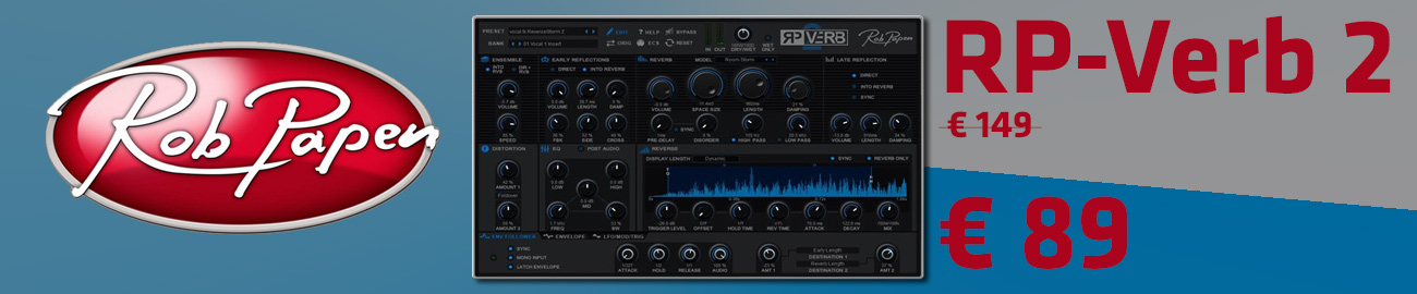 Banner Rob Papen RP-Verb 2 33% OFF