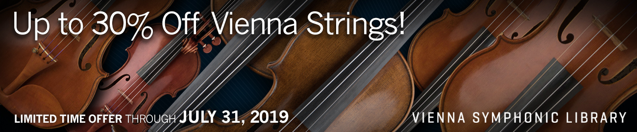 Banner VSL - Vienna Strings 30% OFF