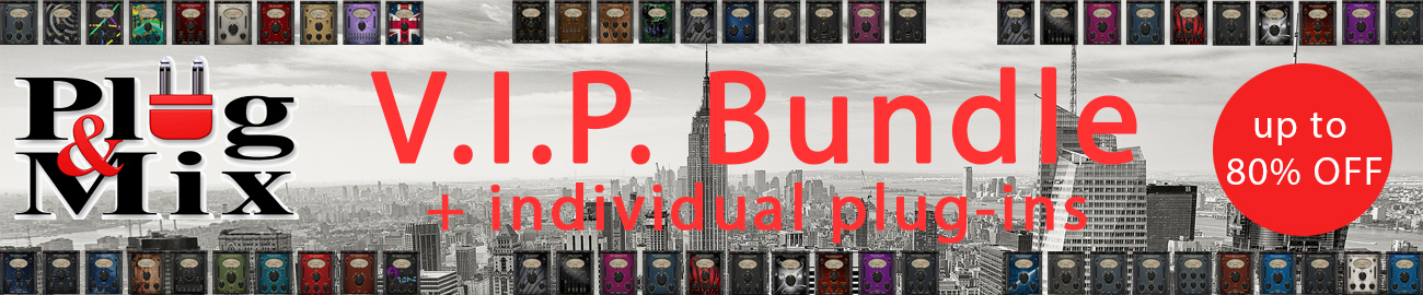 Banner Plug & Mix - V.I.P. Bundle Promo