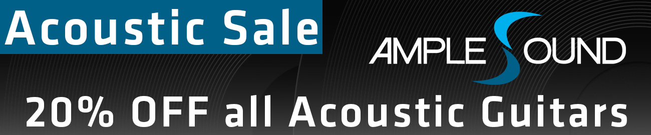 Banner Ample Sound - Acoustic Summer Sale