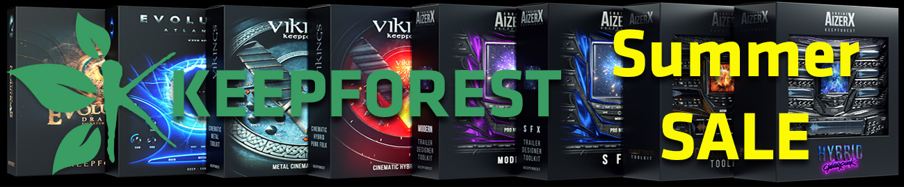 Banner Keepforest Summer Sale - up to 70% OFF