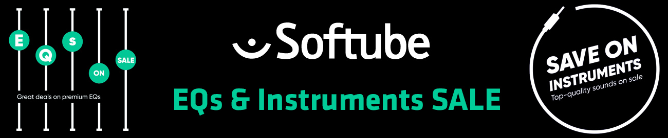 Banner Softube - EQs & Instruments Sale