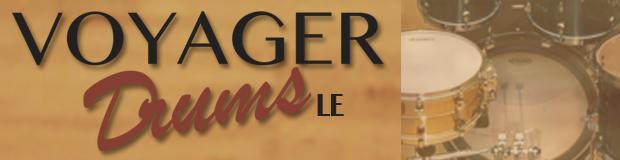 Voyager Drums LE Header