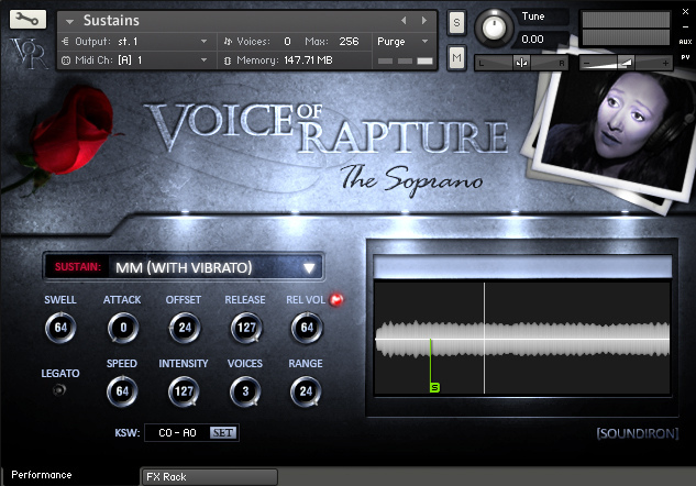 Voices of Rapture Screen