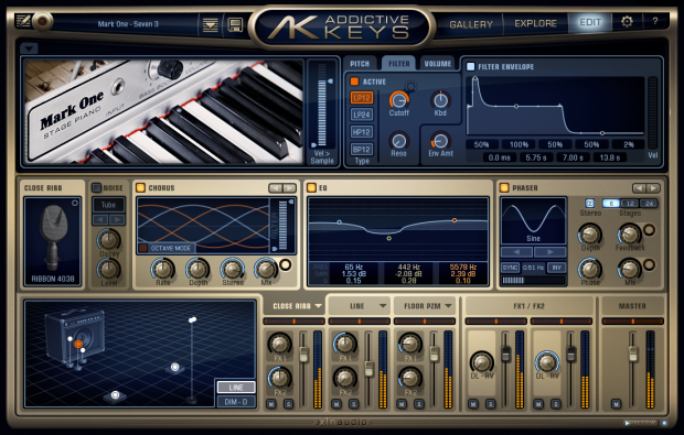 Addicitive Keys Engine Mark One