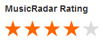 Music Radar Rating