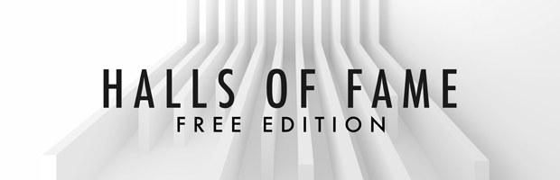 Halls Of Fame FREE Edition Header